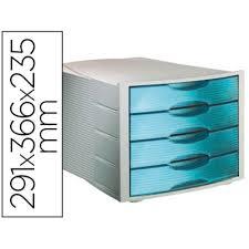 bloc de classement bureau bloc 4 tiroirs gris bleu organiser bureau module de