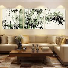 china home decor a set of three square art canvas painting home decoration