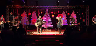 Church Lighting Design Ideas Trees And Boxes Church Stage Design Ideas
