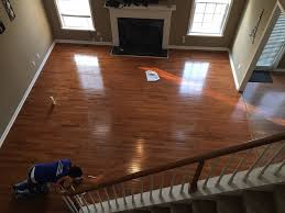 hardwood flooring installation the was completed in less