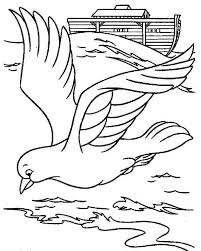 flood coloring pages a rainbow behind the noahs ark before the flood colouring page a