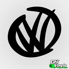 volkswagen logo volkswagen logo u2013 modelo 2 edsvinyls