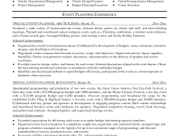 Event Coordinator Cv Example Entertainment And Venue Manager by Events Coordinator Resume Company Profile Templates Word Template