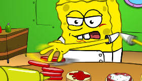 jeux de bob l 駱onge en cuisine free spongebob for