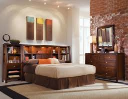 Headboard Nightstand Attached Creative Bedroom Interior Decoration With King Size Headboards
