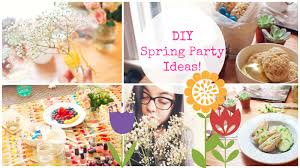 diy spring party ideas easy fun youtube