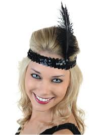 flapper headband diy black flapper headband costumes