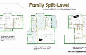 split level floor plans 1970 mid century house plans modern design ideas interiors fireplace