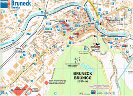Northern Italy Map by Burnico Bruneck In Northern Italy Weepingredorger
