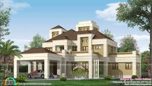 elegant colonial home plan kerala home design bloglovin u0027