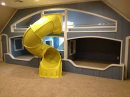 Slide For Bunk Bed College Rooms Room And