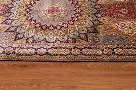 Silk Oriental Rugs 5x3 Gonbad Silk Persian Rugs Dome Design Gombad Carpet 3221