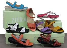 Strictly Comfort Sandals Look At Those Gorgeous Colours For Summer Sandals By Ziera