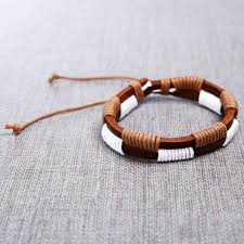 mens bracelet handmade images Leather handmade mens bracelet mad style jpg