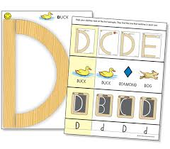 capital letter cards for wood pieces laminated learning
