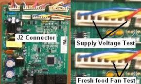 refrigerator fan not working ge refrigerator fan motor diagnostics