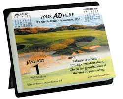 Desk Daily Calendar Custom Wall U0026 Desk Daily Calendar Usimprints