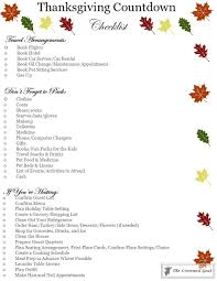 easy thanksgiving planning guide and a free printable