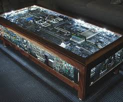 power of books sculptural glass topped side table board coffee table