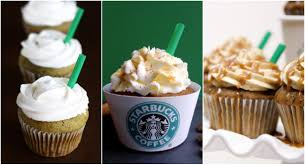 9 cupcakes inspired by starbucks drinks