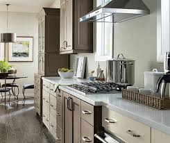White Maple Kitchen Cabinets Maple Cabinets In A Casual Kitchen Schrock