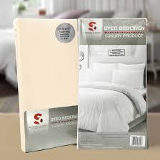 poly cotton plain dyed fitted bed sheets fitted sheets love