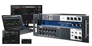 ui16 soundcraft professional audio mixers