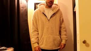 urkoolwear sherpa hoodie review fear of god sherpa hoodie