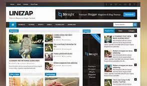 linezap responsive blogger template themexpose