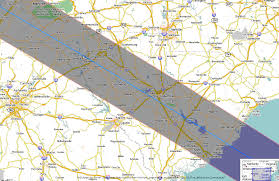 Map Of Charleston South Carolina Total Solar Eclipse 2017 Maps