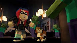 amazon com minecraft story mode adventure pass online game