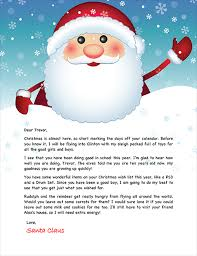 letters from santa santa letter exle personalized letters from santa
