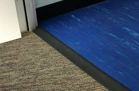 Rubber Plank Flooring Rubber Floor Rampsfloor Transition Strips Carpet To Vinyl Allure