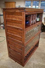 Lawyers Bookcase Plans Repurposed Lawyers Bookcase Wine And Liquor Cabinet By Arbor
