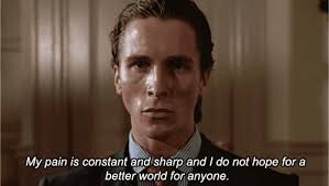 American Psycho Meme - american psycho reaction images know your meme