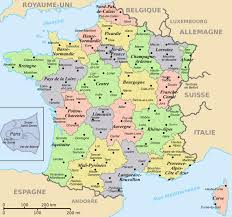 Marseille France Map by Regions And Departements Map Of France