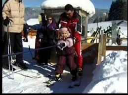 Backyard Ski Lift Multi Skilift Handle Tow For Skiing And Tubing Youtube