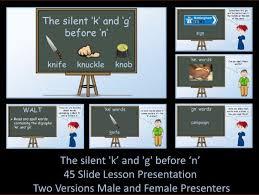 silent u0027k u0027 followed by u0027n u0027 kn worksheet by krazikas teaching