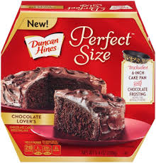 amazon com duncan hines perfect size cake mix chocolate lover u0027s