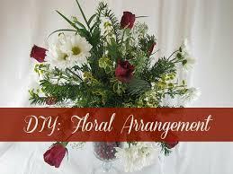 How To Make Floral Arrangements Diy Floral Arrangement Frugal Upstate