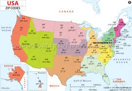 map usa place us zip codes map get the zip code of the desired place easily