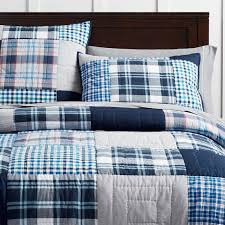 Pottery Barn Madras Curtains Maritime Madras Quilt Sham Pbteen