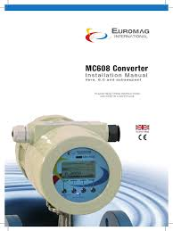 mc608 manual flow measurement battery electricity