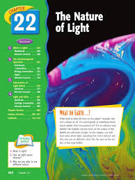 chapter 22 the nature of light electromagnetic radiation light