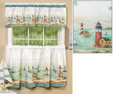 Lighthouse Window Curtains Lighthouse Curtains Ebay