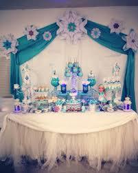 Frozen candy buffet Frozen party ideas Pinterest