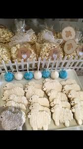 little lamb baby shower cookies misc pinterest lamb baby