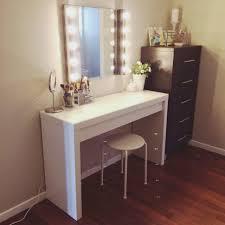 good desk makeup table vanity mirror with lights ikea makeup desks
