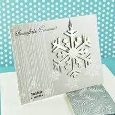 snowflake place card holder ornament set of 4 as low as 8 79