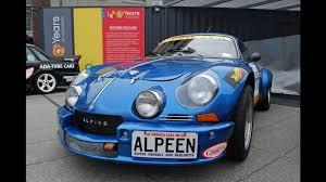alpine a110 renault alpine a110